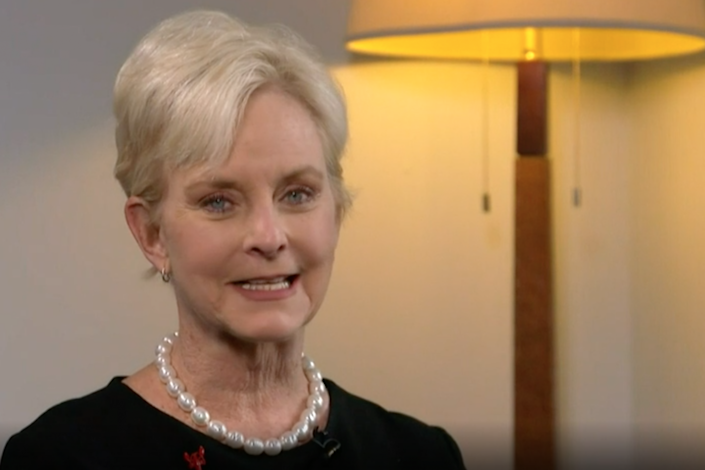 <p>Cindy McCain said she would take the censure as a badge of honour.</p>