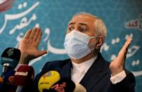 Iran's social media-savvy Foreign Minister Mohammad Javad Zarif took part in a Clubhouse chat that stirred controversy in Iran after journalists for foreign-based Persian media outlets took part