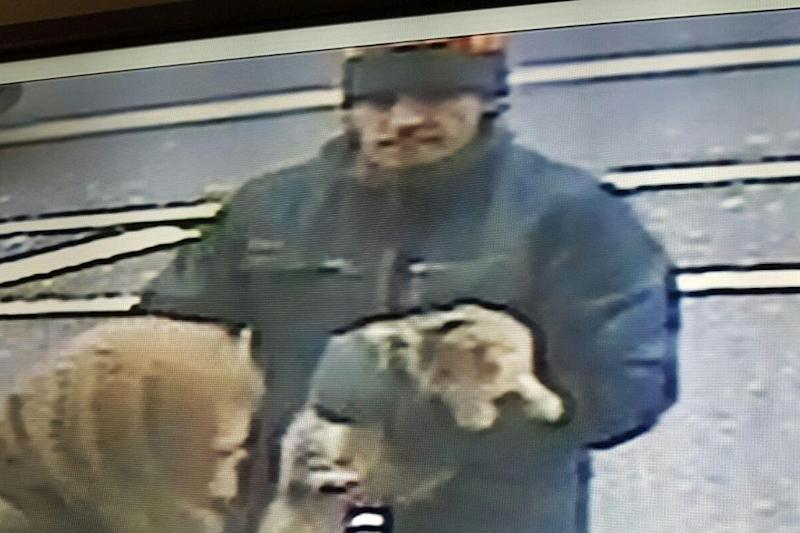 Snatched: Image released of a man wanted in connection with the incident