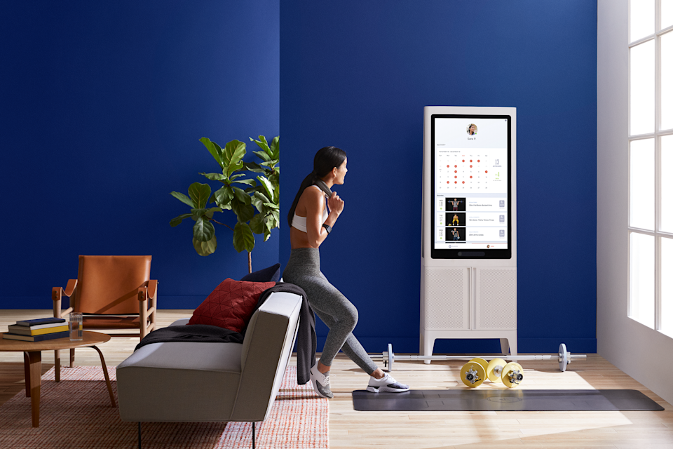 The Tempo Studio starts at $2,495 plus a separate $39 monthly membership per household. Tempo, which uses AI sensors to personalize individual workouts, launched its first product in February 2020.