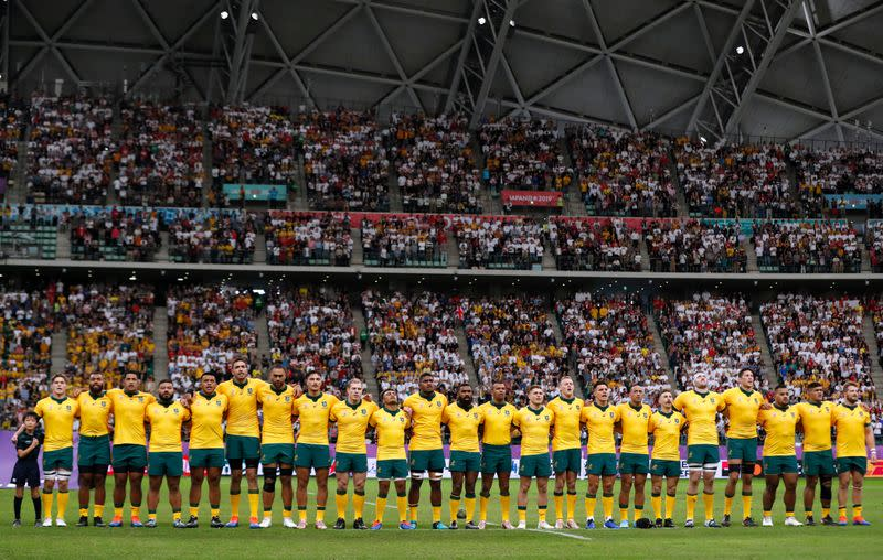 FILE PHOTO: Rugby World Cup 2019 - Quarter Final - England v Australia