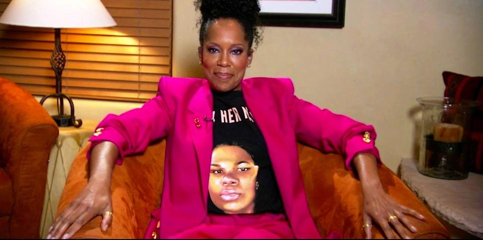 Regina King Wore A Breonna Taylor Shirt For The Emmys