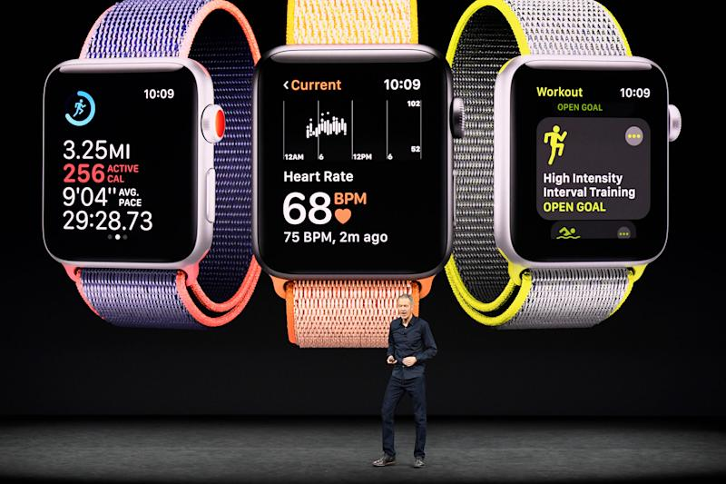 Apple admits to LTE connectivity issues on new Apple Watch, shares tumble