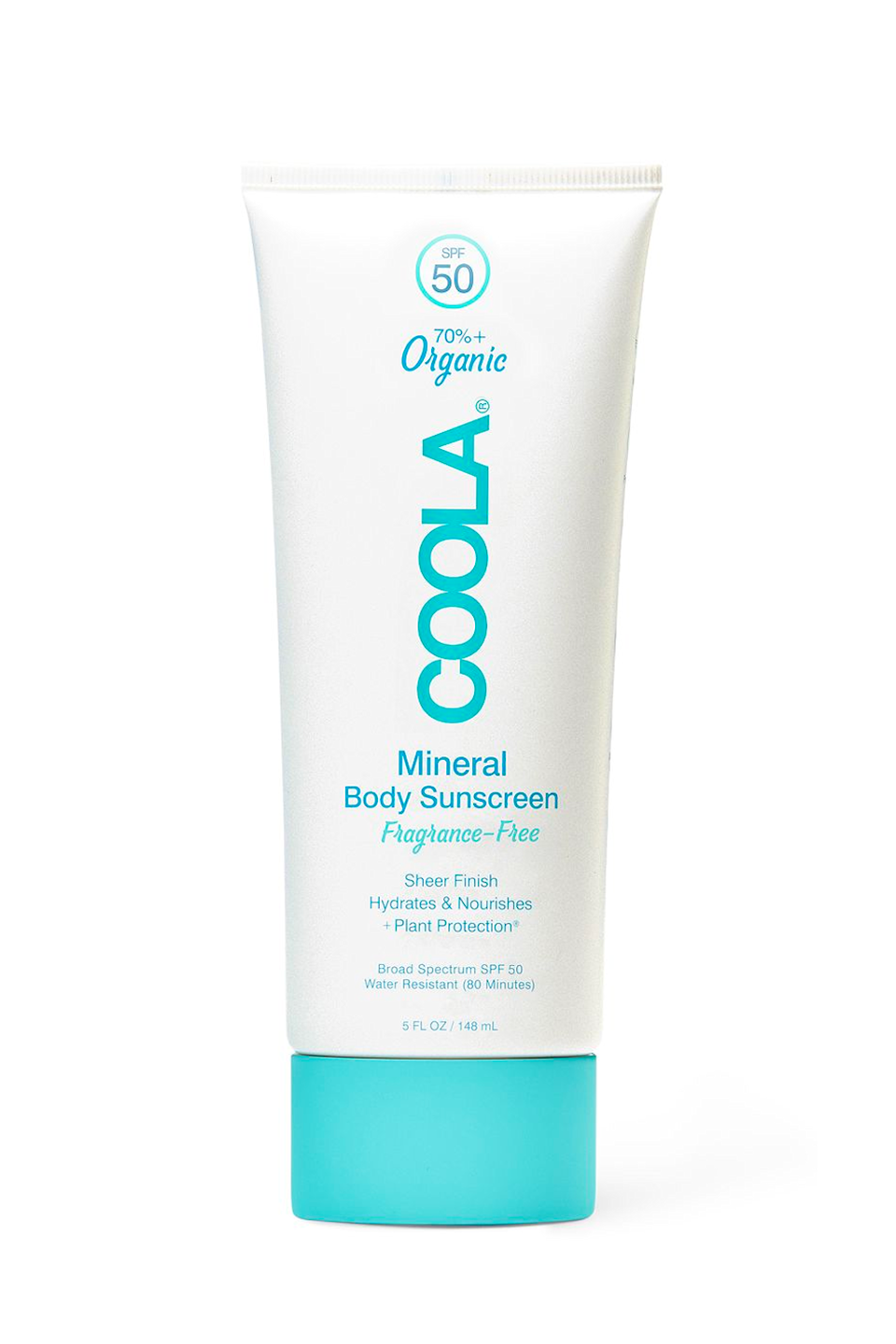"""<p><strong>COOLA</strong></p><p>dermstore.com</p><p><strong>$32.00</strong></p><p><a href=""""https://go.redirectingat.com?id=74968X1596630&url=https%3A%2F%2Fwww.dermstore.com%2Fproduct_Mineral%2BBody%2BSunscreen%2BLotion%2BSPF%2B50%2B%2BFragranceFree_78976.htm&sref=https%3A%2F%2Fwww.cosmopolitan.com%2Fstyle-beauty%2Fbeauty%2Fg35993297%2Fpregnancy-safe-sunscreen%2F"""" rel=""""nofollow noopener"""" target=""""_blank"""" data-ylk=""""slk:Shop Now"""" class=""""link rapid-noclick-resp"""">Shop Now</a></p><p>This chemical-free SPF is here to change your opinion of body sunscreen. Unlike those chalky, thick formulas of your youth, this pregnancy-safe option is <strong>oil-free</strong><strong>,<a href=""""https://www.cosmopolitan.com/style-beauty/beauty/a34024982/fragrance-free-skincare-routine-essay/"""" rel=""""nofollow noopener"""" target=""""_blank"""" data-ylk=""""slk:fragrance-free"""" class=""""link rapid-noclick-resp""""> fragrance-free</a>, and super easy to blend</strong>. It's got a blend of antioxidants and plant stem cells to keep your skin feeling (and lookin') healthy, so don't be afraid to really slather it on.</p>"""