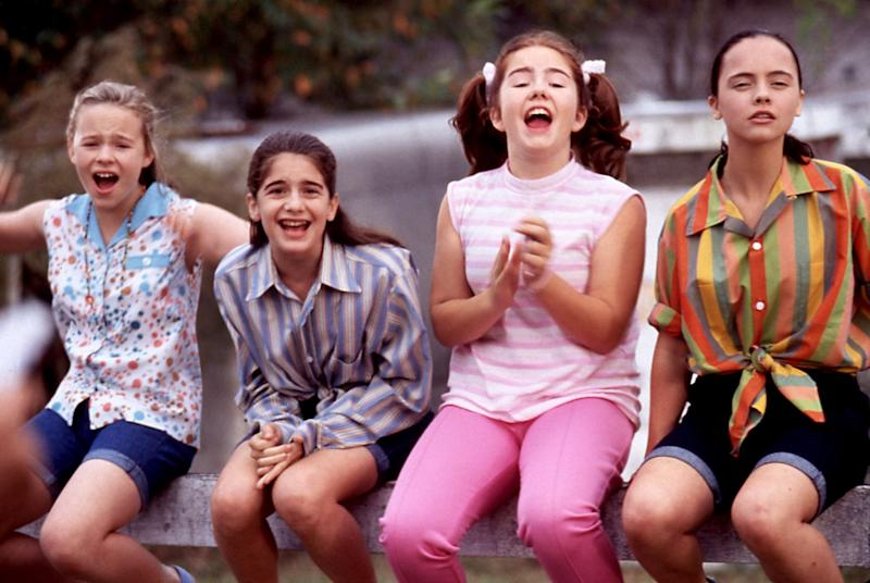 NOW AND THEN, Thora Birch, Gaby Hoffman, Ashleigh Aston Moore, Christina Ricci, 1995