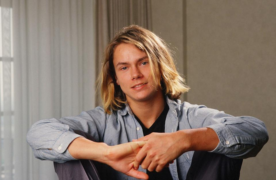 River Phoenix poses in 1988. (Photo: George Rose/Getty Images)