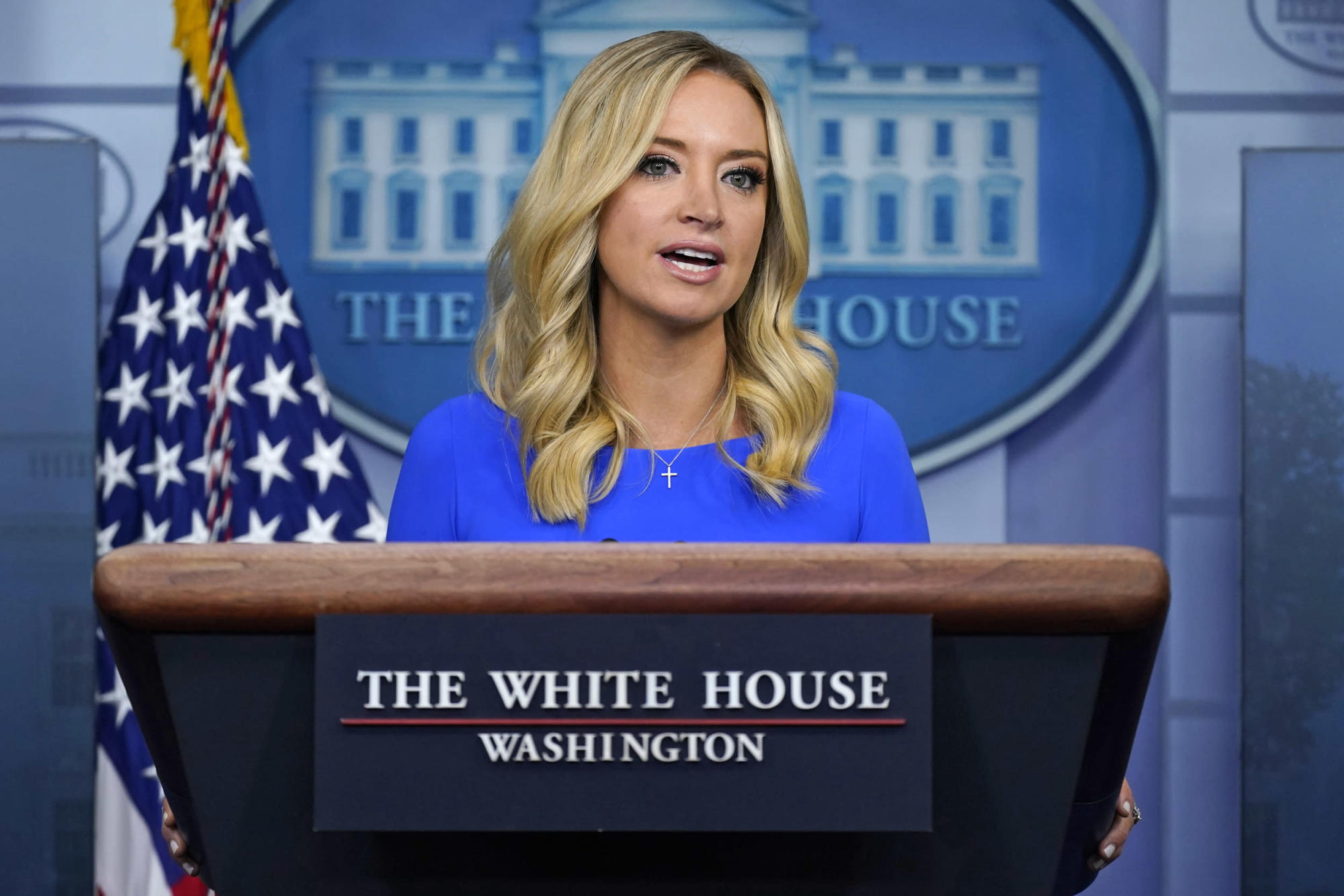 WH Press Secretary Kayleigh McEnany tests positive for