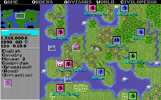 "A screenshot from the original <em>Civilization</em>, released in 1991.<span class=""copyright"">MicroProse</span>"