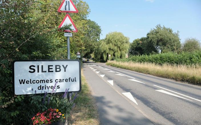 Sileby in Leicestershire has a population of 8,000. - Tristan Potter/SWNS