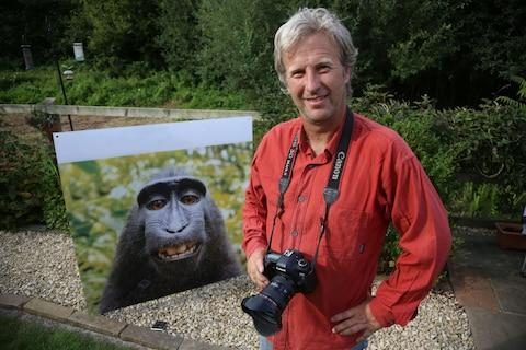 David Slater, the photographer behind the monkey selfie pictures - Credit: Thomas Gaffney/Caters News Agency