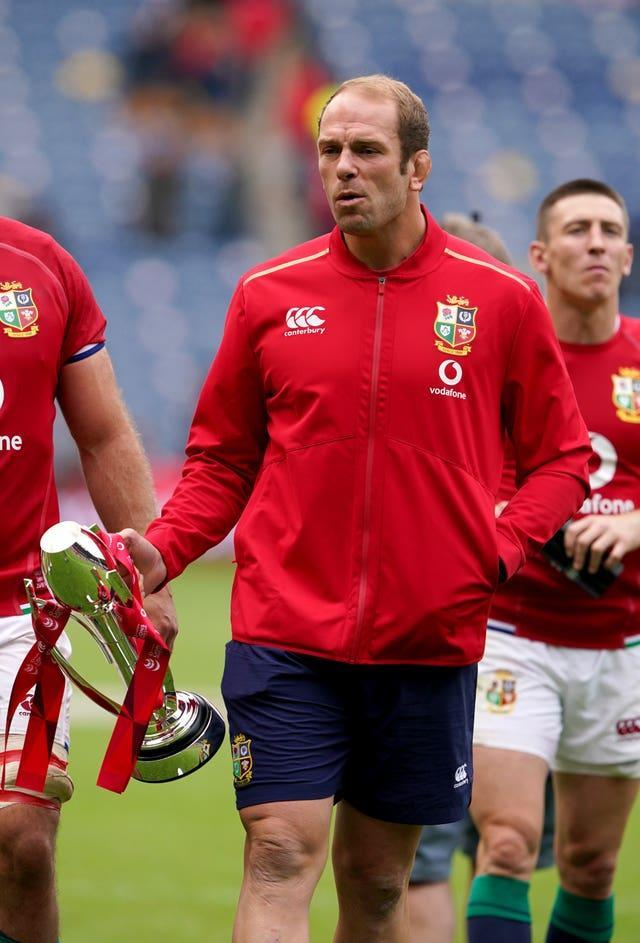 Alun Wyn Jones has been ruled out of the Lions tour by a dislocated shoulder