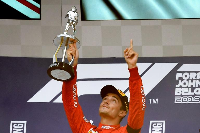 Leclerc returns to Belgium with heavy heart, one year after tragedy
