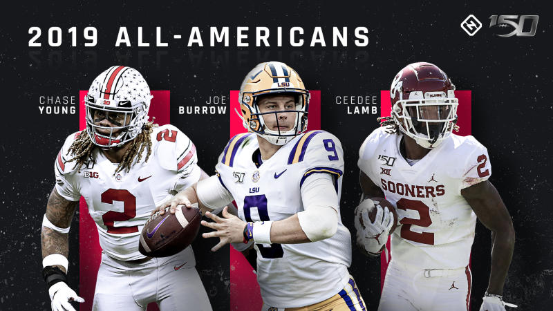 Sporting News 2019 college football All-Americans