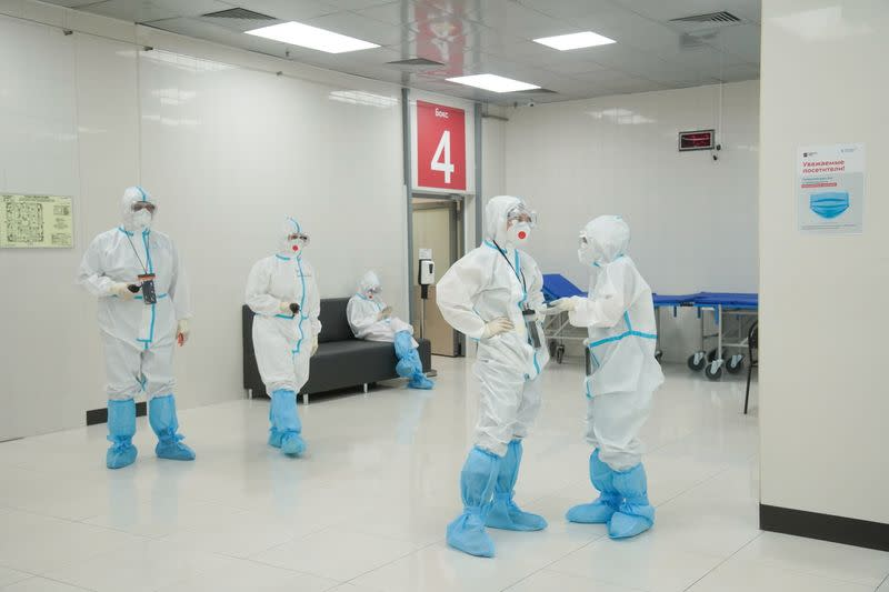 Outbreak of the coronavirus disease (COVID-19) in Moscow