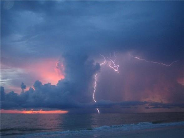 Static Indian Shores Florida Lightning