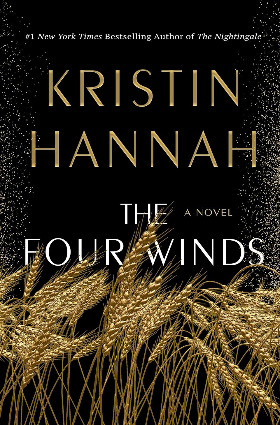 <p>Bestselling author Kristin Hannah returns with <span><strong>The Four Winds</strong></span>, a sweeping novel set against the backdrop of the Great Depression. As the Dust Bowl begins to ravage her land, Elsa Martinelli is faced with a choice that will change her life forever: leave her Texas home behind for the chance of a better life in California or stay put and fight for the land she loves. </p> <p><em>Out Feb. 2</em></p>