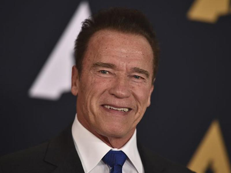 Arnold Schwarzenegger arrives at the 2016 Governors Awards in Los Angeles: Jordan Strauss/Invision/AP