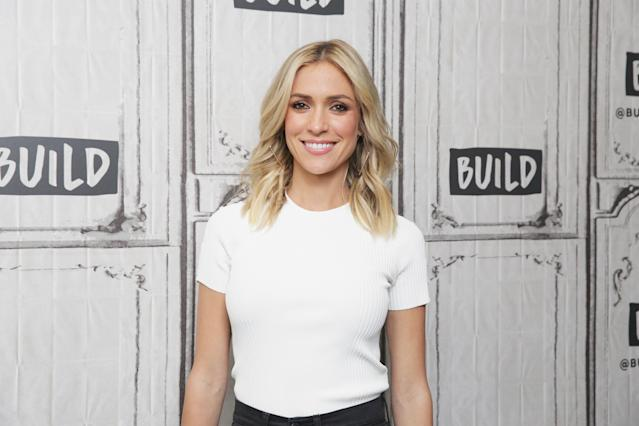 Kristin Cavallari, visiting the set of Build NYC last week, shared the trailer for her new show, <em>Very Cavallari.</em> (Photo: Mireya Acierto/WireImage)