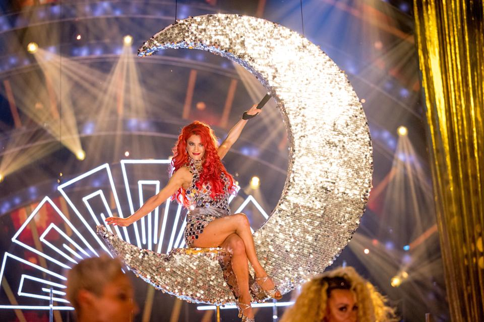 Programme Name: Strictly Come Dancing 2021 - TX: 18/09/2021 - Episode: Strictly Come Dancing - Launch Show (No. n/a) - Picture Shows:  Dianne Buswell - (C) BBC - Photographer: Guy Levy