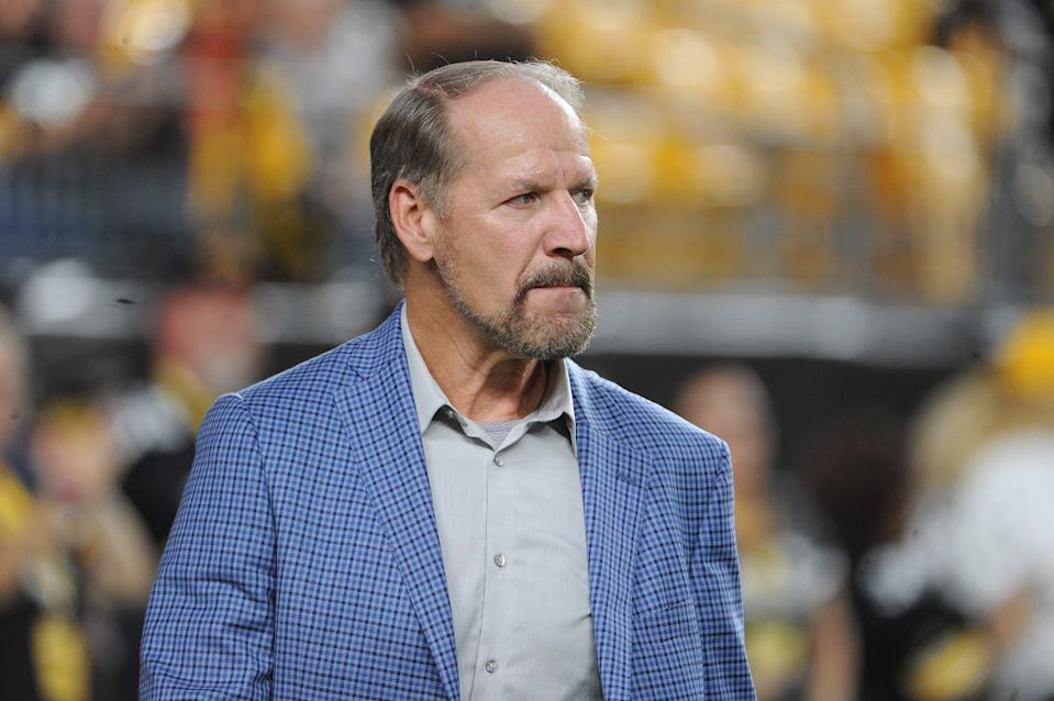 Bill Cowher at a Steelers game at Heinz Field in Pittsburgh, Sept. 30, 2019.