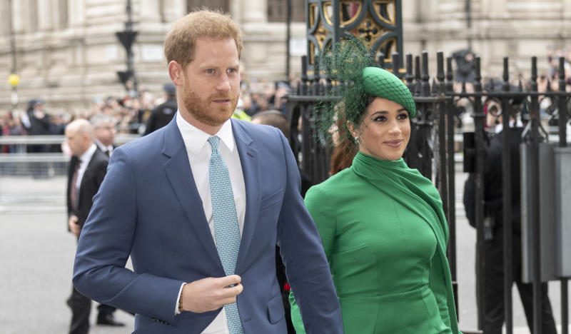 Prince Harry, Duke of Sussex and Meghan, Duchess of Sussex celebrated in chat with Gloria Steinam