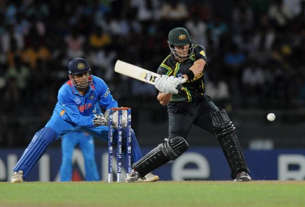 COLOMBO, SRI LANKA - SEPTEMBER 28:  Shane Watson of Australia bats during the super eight match between Australia and India held at R. Premadasa Stadium on September 28, 2012 in Colombo, Sri Lanka.  (Photo by Pal Pillai/Getty Images)