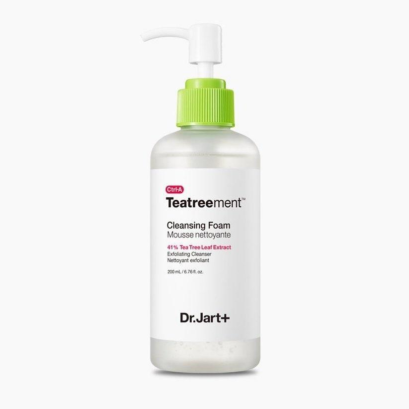 """<p>Who knew there were three types of tea tree extracts that could benefit skin in a breakout-fighting cleanser? Dr. Jart+ did, apparently, and the <a href=""""https://www.allure.com/topic/k-beauty?mbid=synd_yahoo_rss"""" rel=""""nofollow noopener"""" target=""""_blank"""" data-ylk=""""slk:K-beauty brand"""" class=""""link rapid-noclick-resp"""">K-beauty brand</a> combined them with exfoliating and clarifying salicylic acid to create a bubbly and balancing face wash that won't irritate the oily and combination skin types it's intended for.</p> <p><strong>$28</strong> (<a href=""""https://shop-links.co/1706594253517033181"""" rel=""""nofollow noopener"""" target=""""_blank"""" data-ylk=""""slk:Shop Now"""" class=""""link rapid-noclick-resp"""">Shop Now</a>)</p>"""