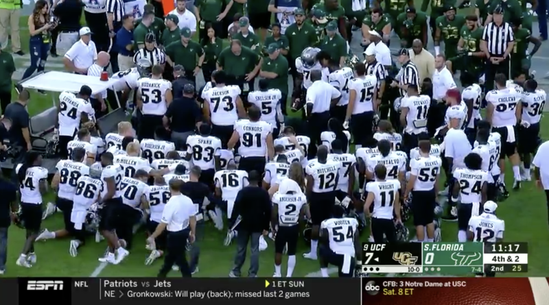 UCF QB McKenzie Milton suffers gruesome knee injury in win over South  Florida acad651de