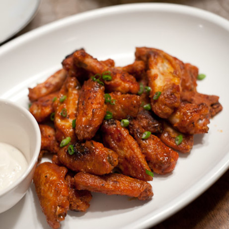 """<p>""""Made this recipe for my extended family and they were RAVING! My hubby and I have made these wings several times and love them. I love that you don't have to fry them; it's all sooo easy!"""" -<i>Chef Lindsay</i> <b><a href=""""http://www.food.com/recipe/buffalo-wings-324138?oc=PTNR-YahooFood-favorite-chicken-wing-recipes"""" rel=""""nofollow noopener"""" target=""""_blank"""" data-ylk=""""slk:Get the Recipe>>"""" class=""""link rapid-noclick-resp"""">Get the Recipe>></a></b><br></p><p><i>Recipe by <a href=""""http://share.food.com/community/Amy-Ann-Ash/style.esi?member_id=949367?oc=PTNR-YahooFood-favorite-chicken-wing-recipes"""" rel=""""nofollow noopener"""" target=""""_blank"""" data-ylk=""""slk:Amy Ann Ash"""" class=""""link rapid-noclick-resp"""">Amy Ann Ash</a>; Photo by <a href=""""http://share.food.com/community/ej_pag/style.esi?member_id=1835134?oc=PTNR-YahooFood-favorite-chicken-wing-recipes"""" rel=""""nofollow noopener"""" target=""""_blank"""" data-ylk=""""slk:ej_pag"""" class=""""link rapid-noclick-resp"""">ej_pag</a> </i></p>"""