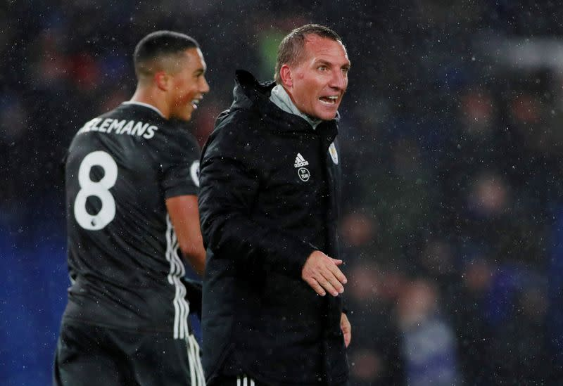 'Happy' Rodgers says he is keen to continue Leicester project