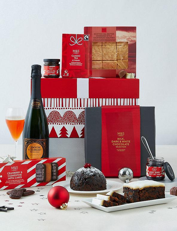 Christmas Food & Fizz Gift Box . (Marks & Spencer)