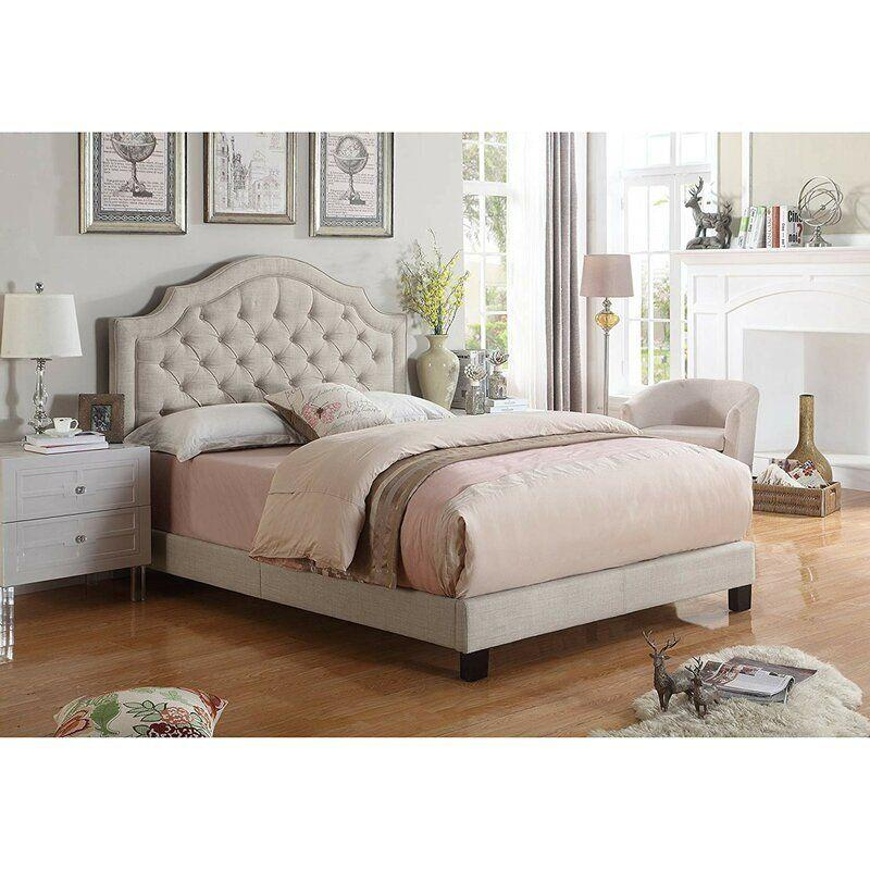 "Find this Swanley Tufted Upholstered Low Profile Standard Bed <a href=""https://fave.co/3ox7mLX"" target=""_blank"" rel=""noopener noreferrer"">on sale for $235 (normally $498) at Wayfair.</a>"