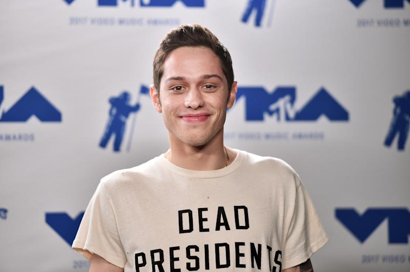 """SNL"" star Pete Davidson has been candid about his mental health. (Alberto E. Rodriguez via Getty Images)"