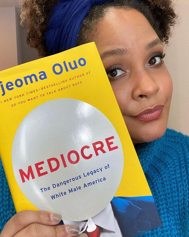 "<p>Whether you've read her books or not (you should, they're great), the <em>New York Times </em>bestselling author of <em>Mediocre </em>and <em>So You Want to Talk About</em> Race is a must-follow. Her Instagram is a wealth of knowledge with book recommendations, informative Instagram Lives and a few memes for good measure. </p> <p><strong>Instagram:</strong> <a href=""https://www.instagram.com/ijeomaoluo/?utm_source=ig_embed"" rel=""nofollow noopener"" target=""_blank"" data-ylk=""slk:@ijeomaoluo"" class=""link rapid-noclick-resp"">@ijeomaoluo</a>; <strong>Twitter:</strong> <a href=""https://twitter.com/IjeomaOluo"" rel=""nofollow noopener"" target=""_blank"" data-ylk=""slk:@ijeomaoluo"" class=""link rapid-noclick-resp"">@ijeomaoluo</a></p>"