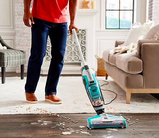 Messes are no match for this handy machine. (Photo: QVC)
