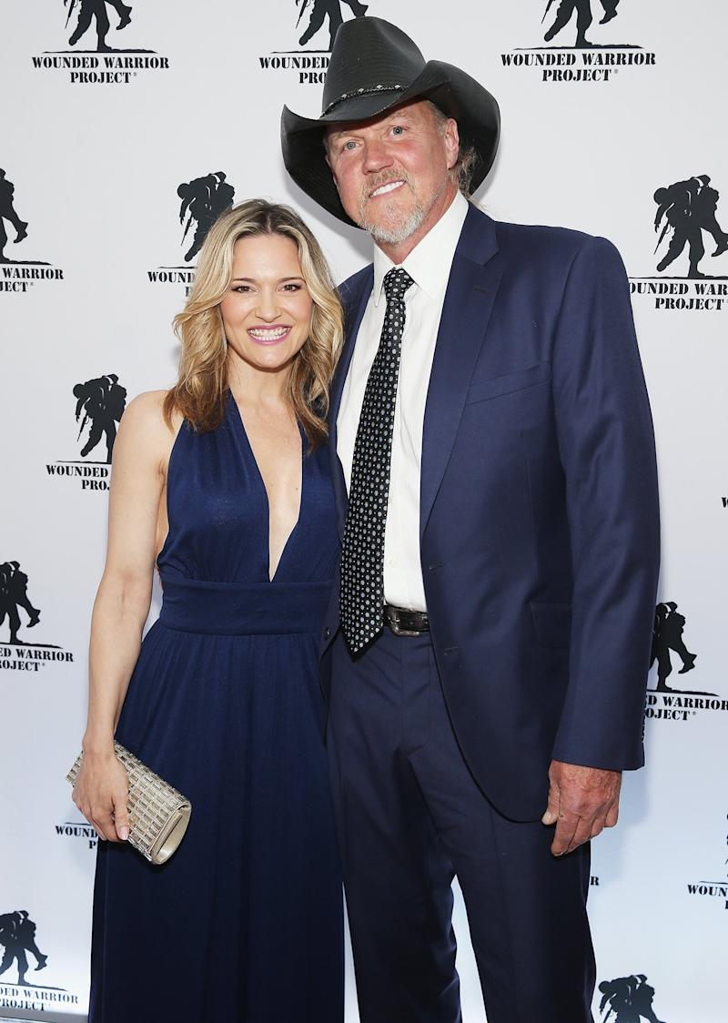 Trace Adkins Marries Victoria Pratt in New Orleans Ceremony — and Blake Shelton Officiated!
