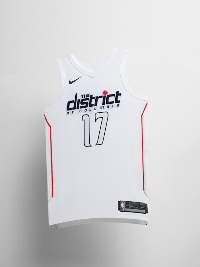 Washington Wizards City uniform. (Nike)
