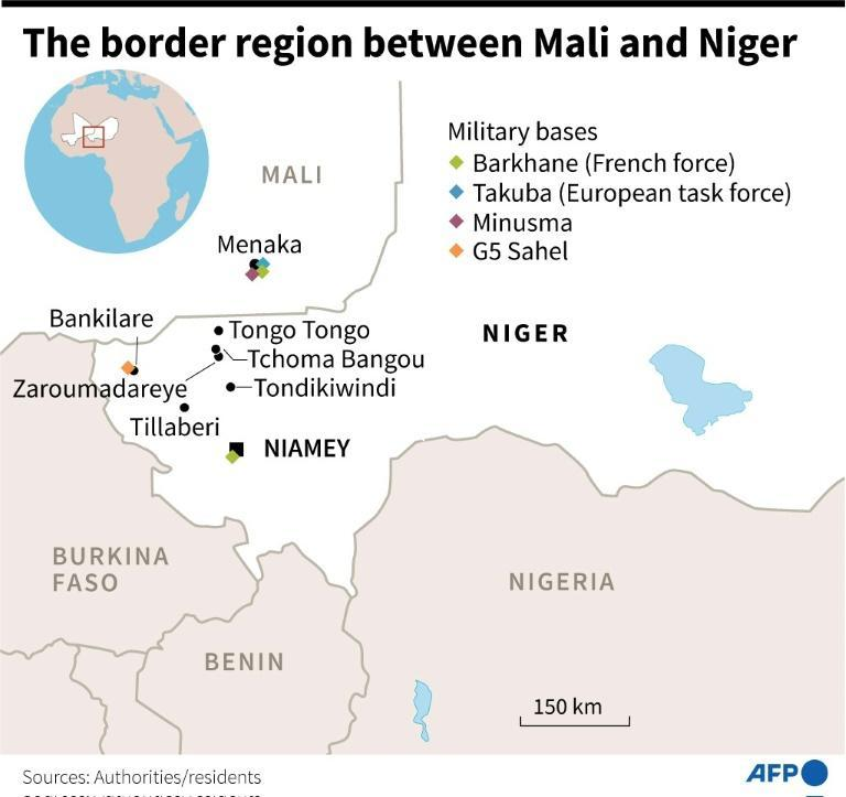 The border region between Mali and Niger