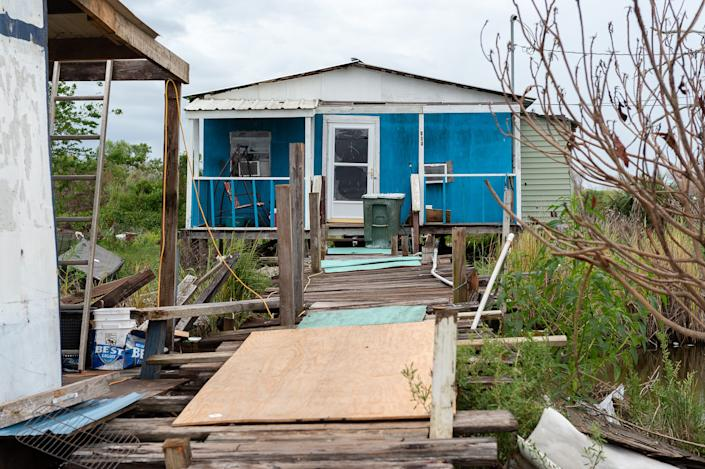 Hurricane Barry brought eight feet of water to Isle de Jean Charles prompting some to consider if they should stay.