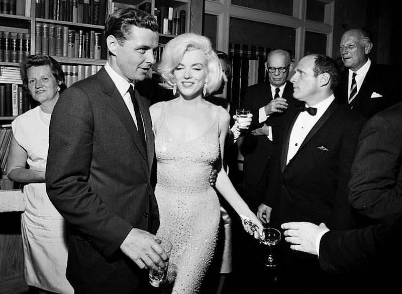 The iconic dress Marilyn Monroe wore to sing 'Happy Birthday' to President John F. Kennedy has sold for $4.8 million at auction — get the details!