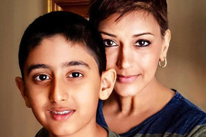 Sonali Bendre Reveals How She Broke the News of Her Cancer to Her 12-yr-old Son; Read Her Post Here