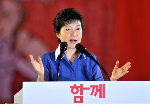 Park Geun-Hye has been under increasing pressure to clarify her position on her father's 1961-79 rule