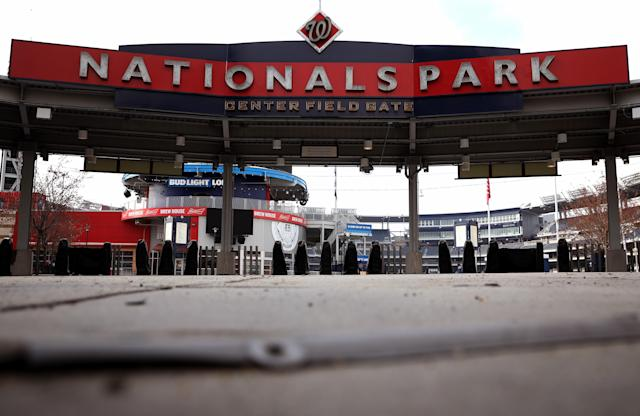 It could be a while before spectators are allowed back into MLB games. (Photo by Win McNamee/Getty Images)