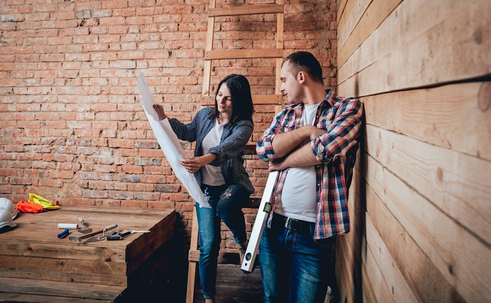 """<span class=""""caption"""">As we head into spring and summer, the most popular seasons for home improvement, it's important for couples to set ground rules before breaking ground.</span> <span class=""""attribution""""><span class=""""source"""">(Shutterstock)</span></span>"""