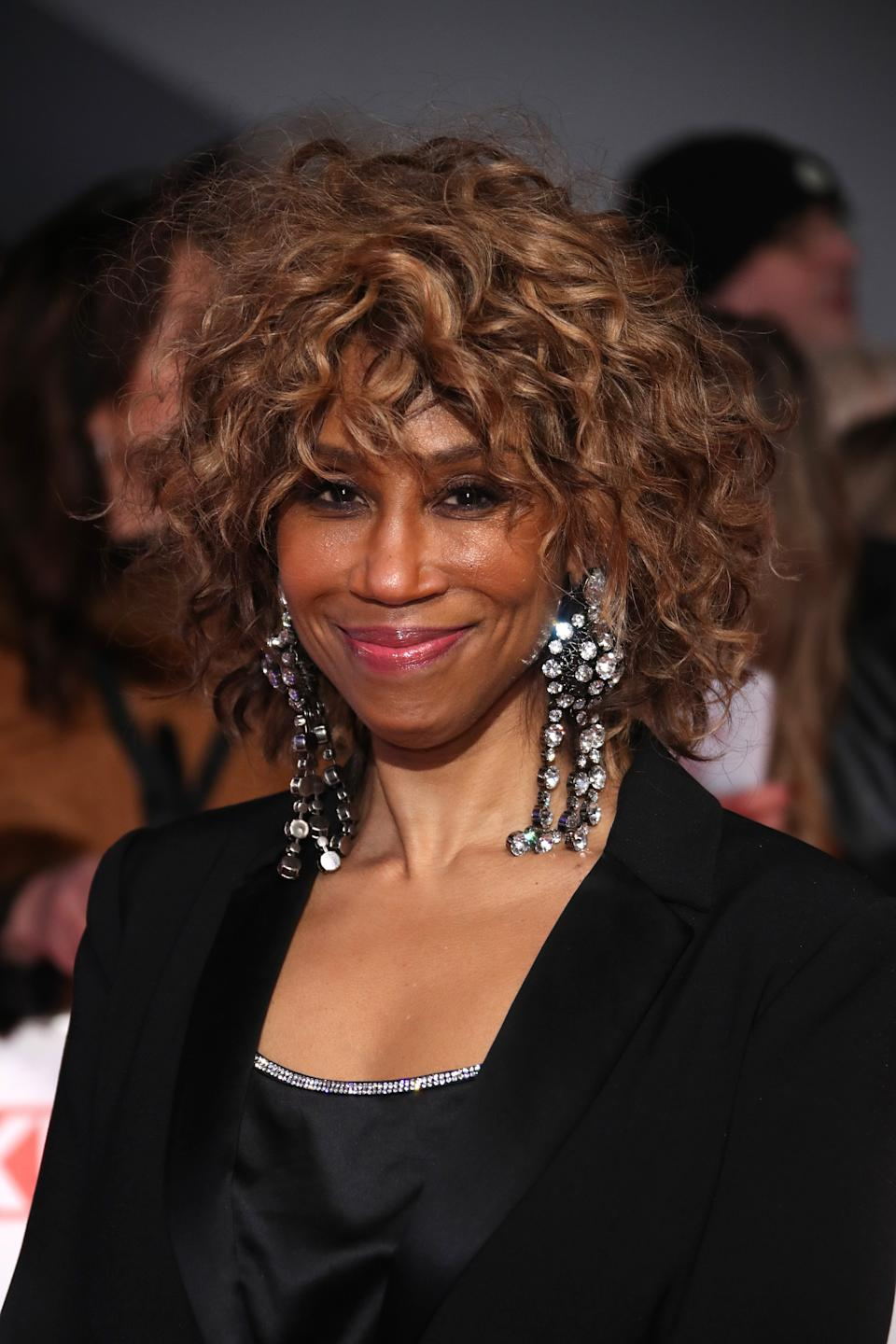 LONDON, ENGLAND - JANUARY 28: Trisha Goddard attends the National Television Awards 2020 at The O2 Arena on January 28, 2020 in London, England. (Photo by Mike Marsland/WireImage)