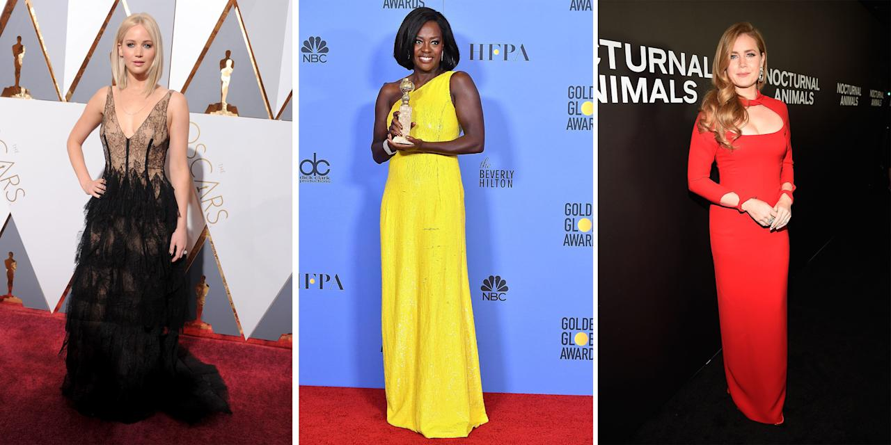 <p>The dresses are beautiful, but even more jaw dropping are the gorgeous curves in them. In preparation for this year's Academy Awards, we've rounded up how your favorite celebrities and Oscar nominees get red carpet-ready.</p>