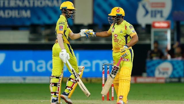 After Shane Watson's departure, Gaikwad forged a 68-run partnership with Ambati Rayudu (38 off 20 balls) for the second wicket. Rayudu finished with an impressive strike rate of 190 and struck one six and five fours. Sportzpics