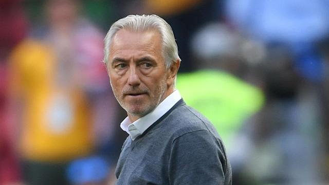 Bert van Marwijk questioned the referee's conviction after the first VAR-assisted penalty went against Australia in their 2-1 defeat to France