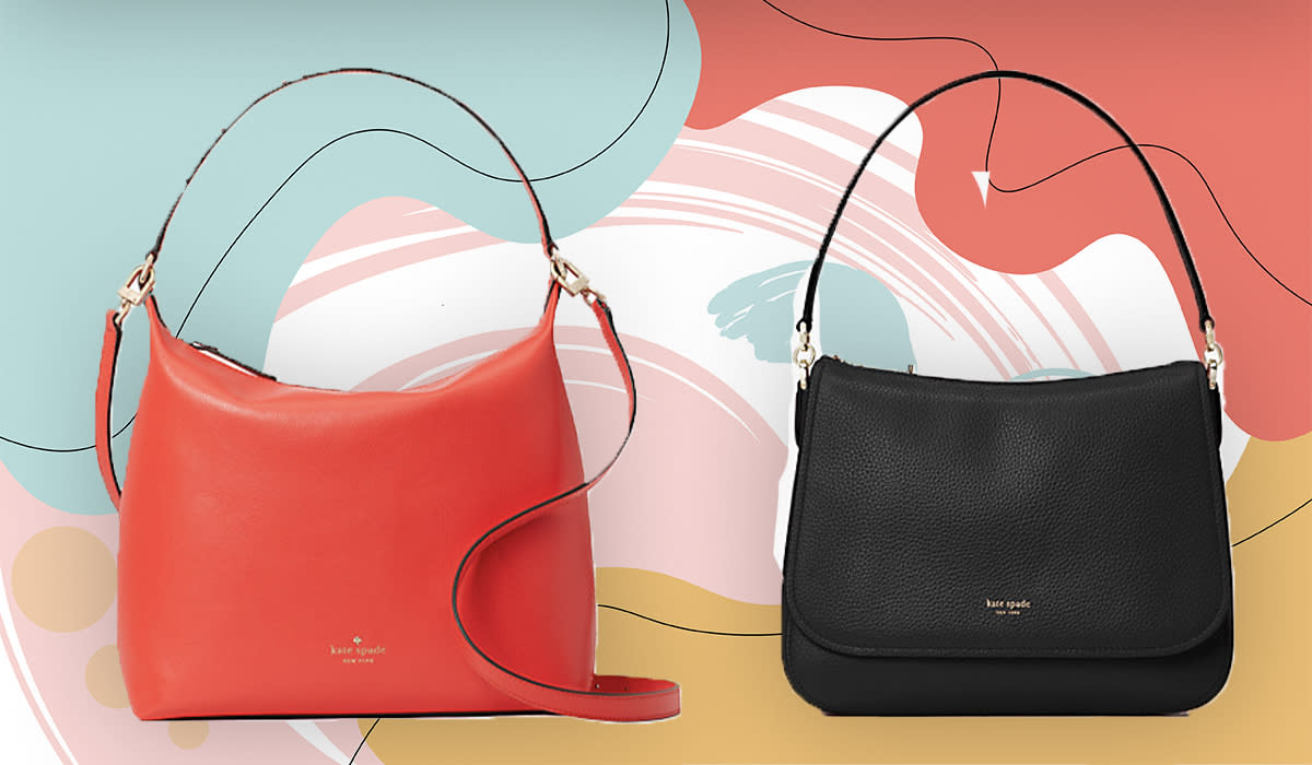 Schlep in style this season, with these shoulder bags, crossbodies and totes at a ridonculous markdown. (Photo: Kate Spade)