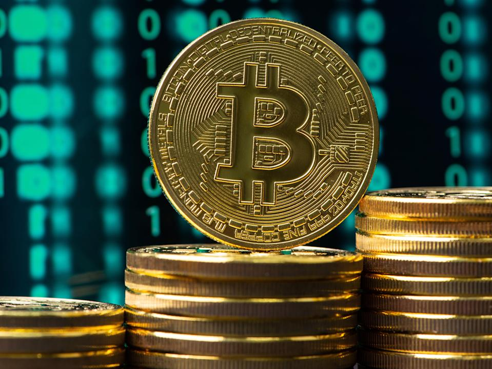 Bitcoin's price dropped $10,000 over the weekend after hitting a new all-time high (Getty Images)